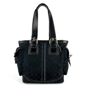 COACH Black Everyday Tote Shoulder Fashion Bag